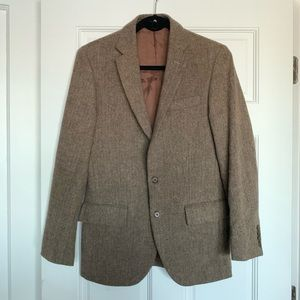 Herringbone tweed blazer | J Crew
